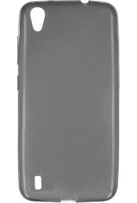 Etabibizde Vestel Venüs V3 5530 02mm Silikon İnce Transparan Arka Kapak Antrasit Nano Glass