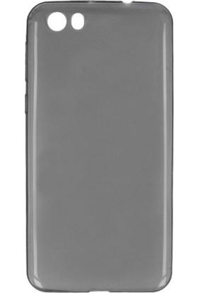 Etabibizde Vestel Venüs V3 5570 02mm Silikon İnce Transparan Arka Kapak Antrasit Nano Glass