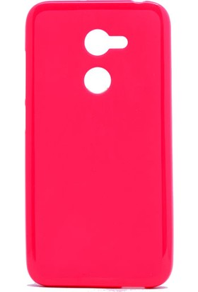Etabibizde Alcatel A3 f Süper Parlak Silikon Arka Kapak Pembe