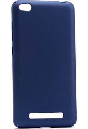 Etabibizde Xiaomi Redmi 4A 3A Rubber Kenarları Kavrayan Arka Kapak Lacivert