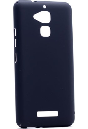 Etabibizde Asus Zenfone 3 Max 5.2 İnç ZC520TL 3A Rubber Kenarları Kavrayan Arka Kapak Siyah + Nano Glass