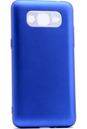 Etabibizde Samsung Galaxy Grand Prime Plus Aston Silikon Parlak Şık Arka Kapak Mavi