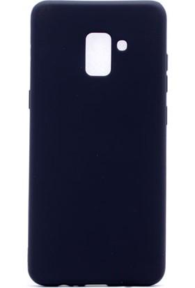 Etabibizde Samsung Galaxy A8 Plus 2018 Premier Yumuşak Doku Silikon Arka Kapak Siyah