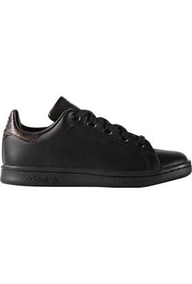 Adidas Thepack Shop By2172 Stan Smith Black İridescent J Unisex Spor Ayakkabı