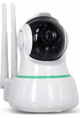 PaleTech ROY13 HD 1080P 2MP WiFi 360º Akıllı Panoramik Hareketli IP Kamera