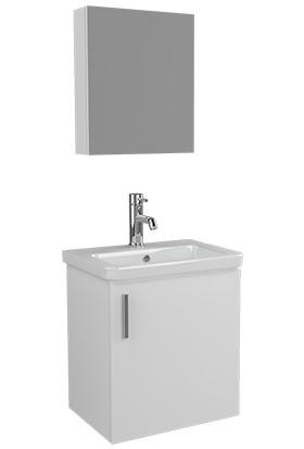 Ece Banyo Slim Smart 50 Banyo Dolabı