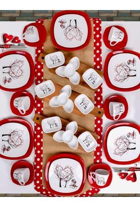 Keramika 45 Parça 6 Kişilik Kahvaltı Takımı Dream Of Keramira