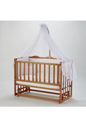 Babycom Anne Yanı Doğal Beşik 60*120