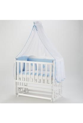 Babycom Beyaz Anne Yanı Ahşap Beşik 50*90