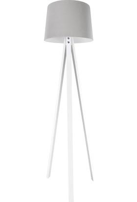 Hepsiburada Home Deko Lambader Beyaz Ayak / Spesiyal Antrasit Şapka