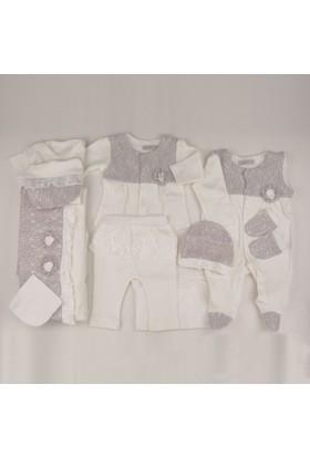 Cassiope 427264 Dantel Krem Rengi Kız Bebek 10'Lu Hastane Çıkışı