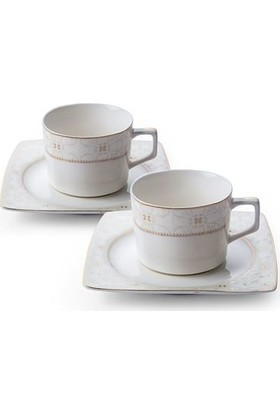 Emsan Camilla 12 Parça 6 Kişilik Porselen Kahve Fincan Takımı