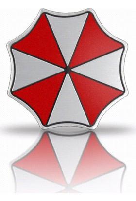 Solfera Aluminyum Resident Evil Umbrella Logo Otomobil Sticker Cs051