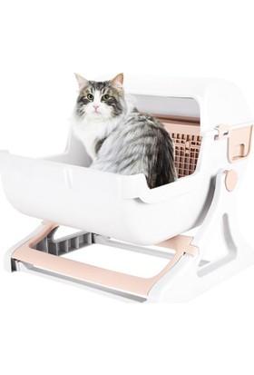 Ert Fonksiyonel Yarı Otomatik Kedi Tuvaleti