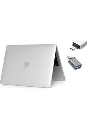 Macstorey Apple Yeni Macbook Pro A1706 A1708 13 inç 13.3 inç Kılıf Kapak Hard Case Mat + Usb-C Hub Kutulu 909