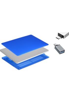 Macstorey Apple Yeni Macbook Pro A1706 A1708 13 inç 13.3 inç Kılıf Kapak Hard Case Mat + Usb-C Hub Kutulu 914