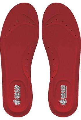 Sanus A101Mdl Kırmızı Memory Foam , Hafızalı İç Tabanı Kadın