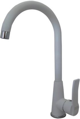 Beyaz Mix Aç Kapa Mutfak Evye Bataryası Cisa
