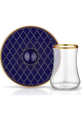 Koleksiyon Dervısh Çay Set 6'Lı Kapıtone Kobalt