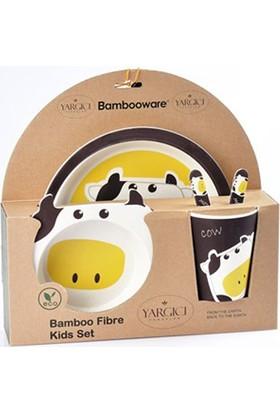 Yargıcı Porselen Bambu 5 Parça Mama Set