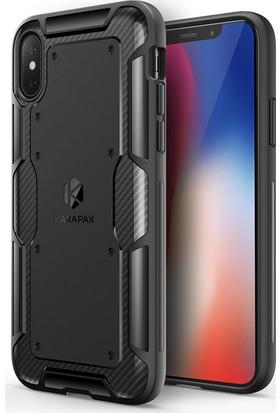 Anker Karapax Shield Apple iPhone X Koruyucu Silikon Kılıf Siyah - A9007
