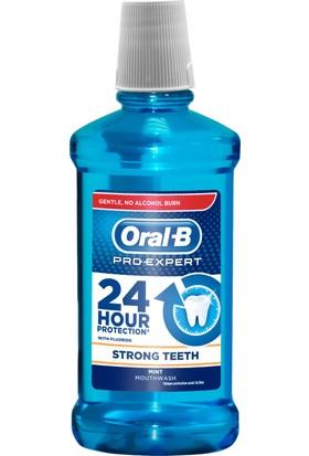Oral-B Pro-Expert Ağız Çalkalama Suyu Güçlü Dişler 500 ml (Alkolsüz)