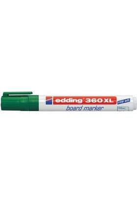 Edding 360Xl Board Marker Beyaz Yazı Tahtası Kalemi Yeşil 10 Lu Paket
