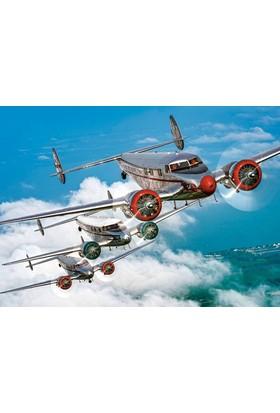 Castorland 120 Parça Uçaklar Çocuk Puzzle