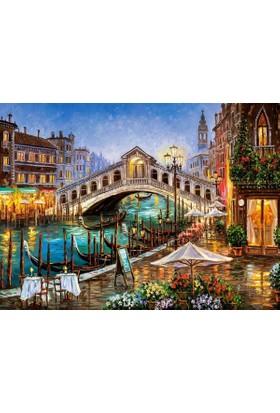Castorland 2000 Parça Grand Canal Bistro Puzzle