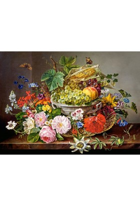 Castorland Çiçekler ve Meyveler Natürmort 2000 Parça Puzzle