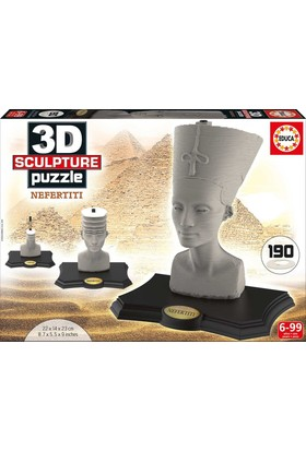 Educa 16966 - 3D Nefertiti Heykel (Sculpture) Puzzle