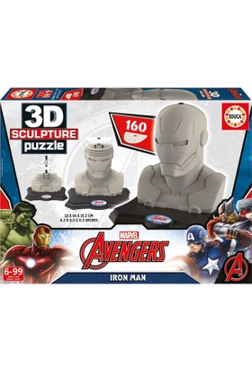 Educa 16884 - 3D Heykel Puzzle (Iron Man)