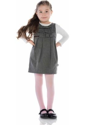 Penti Ekstra Koton Kız Çocuk Külotlu Çorap Pembe