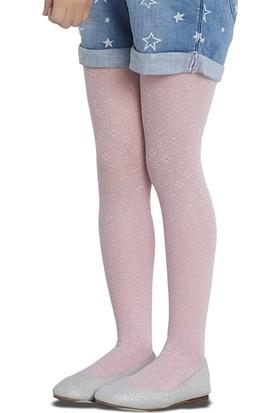 Penti Eva Kız Çocuk Külotlu Çorap Pembe