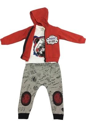 Baby Rose Space Erkek Bebek Takımı