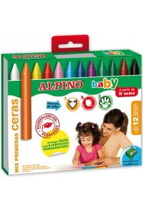 Alpino 12'li Baby Pastel Boya