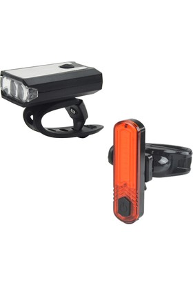 Plus Bisiklet Işık Seti Usb Şarj
