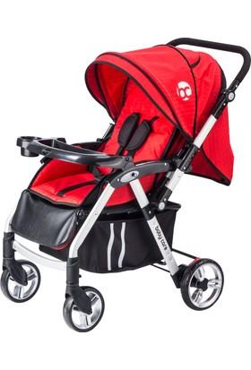 Baby Care Baleno Çift Yönlü Alüminyum Bebek Arabası