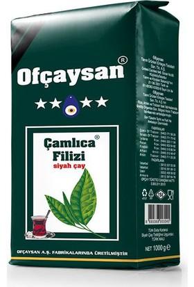 Ofçay Çamlıca Filizi Dökme Siyah Çay 1000 Gr.