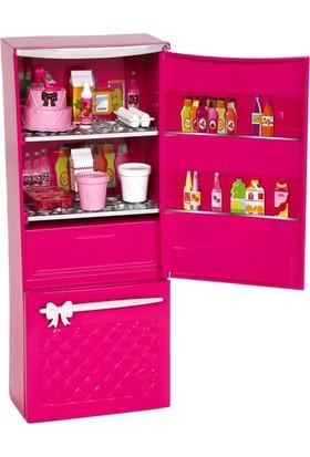 Barbie Pembe Buzdolabı