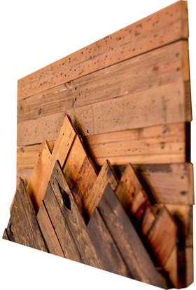Design19 Woodtain Dekoratif Dağ