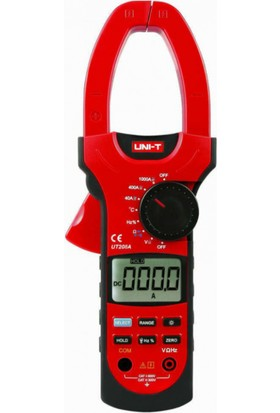 Unı-T Ut208A Ac/Dc 1000A Pensampermetre Ölçü Aleti