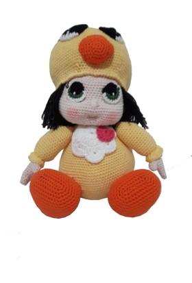 Knitting Toy El Örgüsü - Amigurumi - Civciv Kız