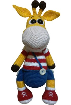 Knitting Toy El Örgüsü - Amigurumi - Sevimli Zürafa