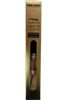 Marcham Eyebrow Care Oil Kaş Kirpik Bakım Yağı 10Ml