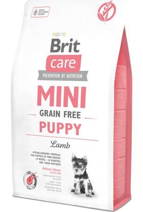 Brit Care Mini Puppy Kuzu Etli Tahılsız Küçük Irk Yavru Köpek Maması 2 Kg