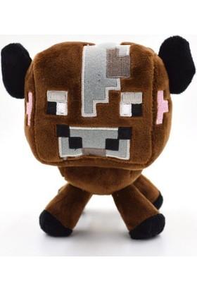 Minecraft Peluş İnek Karakter Oyuncak 16 Cm