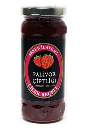 Palivor Çiftliği Şeker İlavesiz Çilek Reçeli (280Gr)