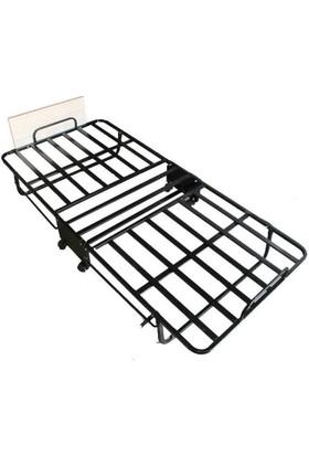Gelişim Yatak Katlanır Somya Tekerlekli 90X190 Karyola + Yastık