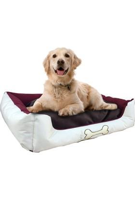 Weblonya Köpek Yatağı Minderli Köpek Yatakları